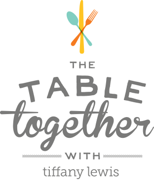 Let's set the table together.