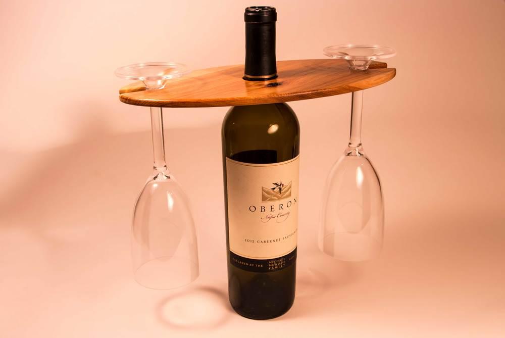 Wine Display on bottle