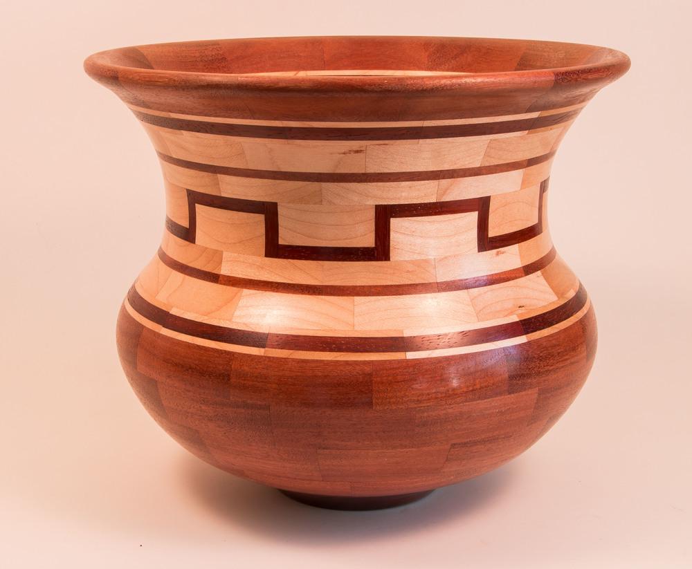 Large segmented bowl