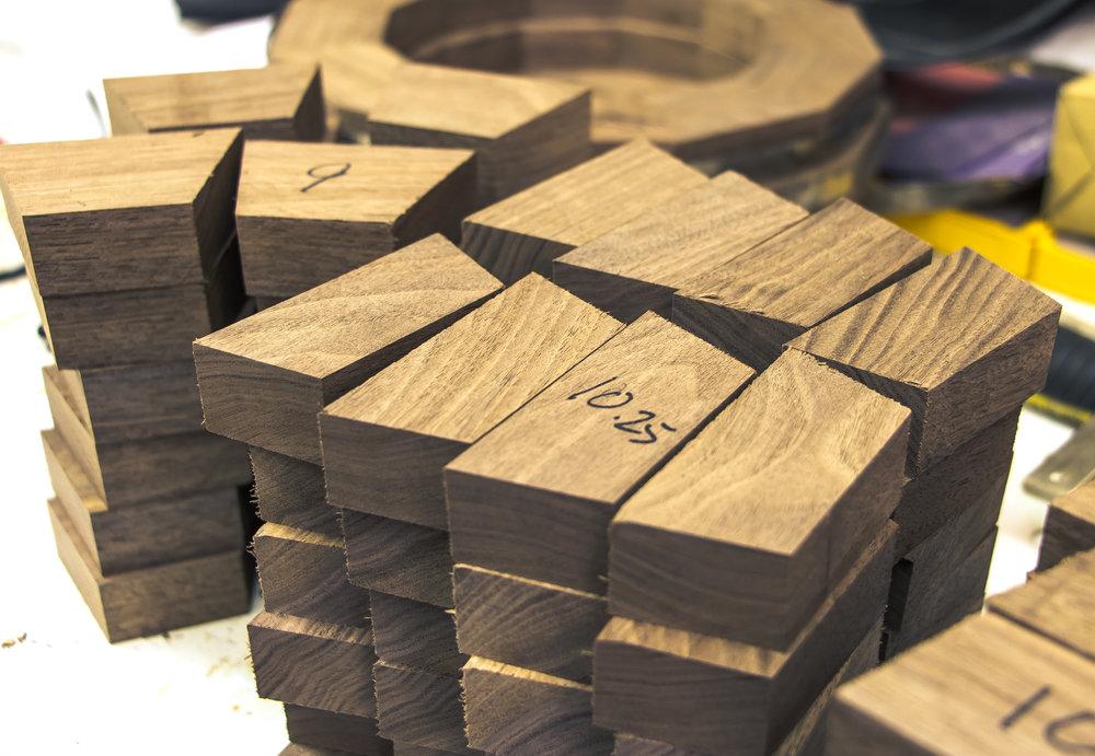 walnut bowl segments