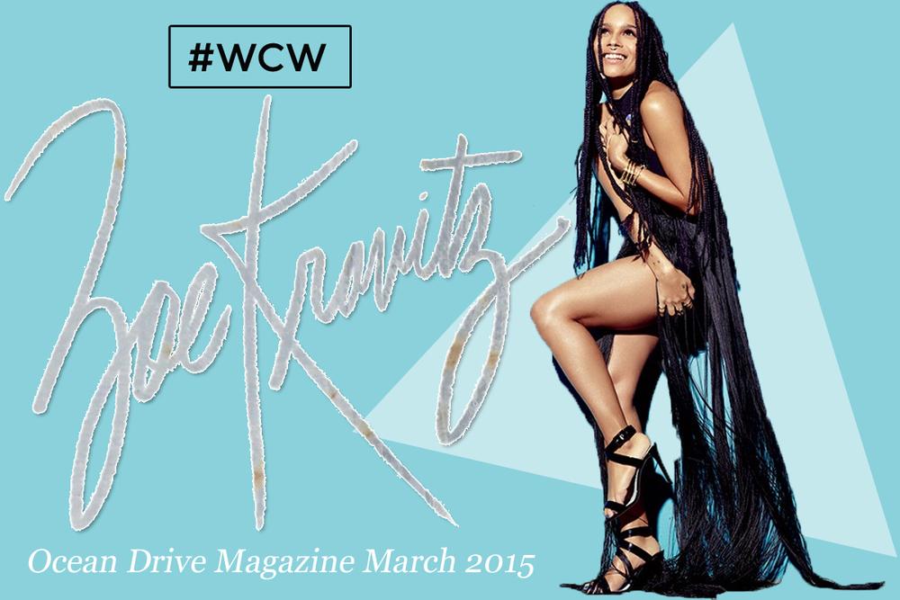 Zoe Kravitz for Ocean Drive Magazine 2015 // IMG VIA  OceanDrive.com