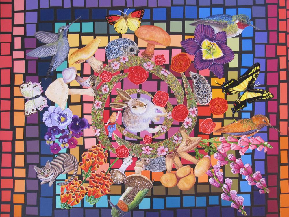 Lewis Carroll's Kaleidoscope