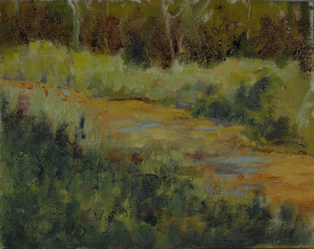 Plein Air Tamarack River