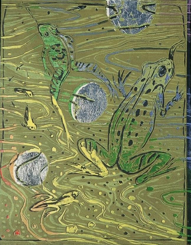 Chakra 3 Frogs