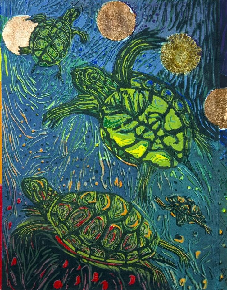 Chakra 4 Turtles