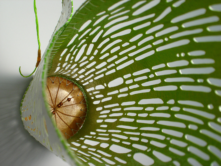 Enlighten - Calla Lily Vessel detail