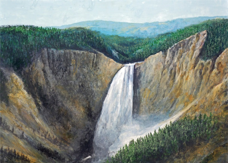 Tower Falls, Yellowstone