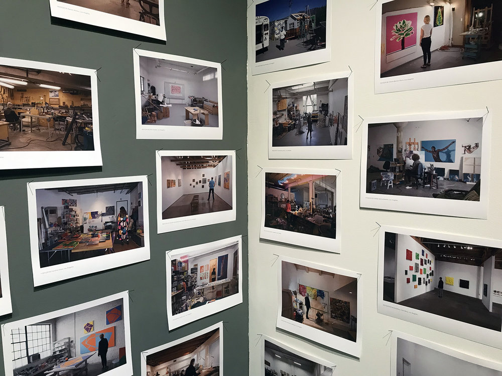 Images of local artists shot in their studios