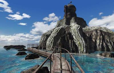 The Riven virtual world