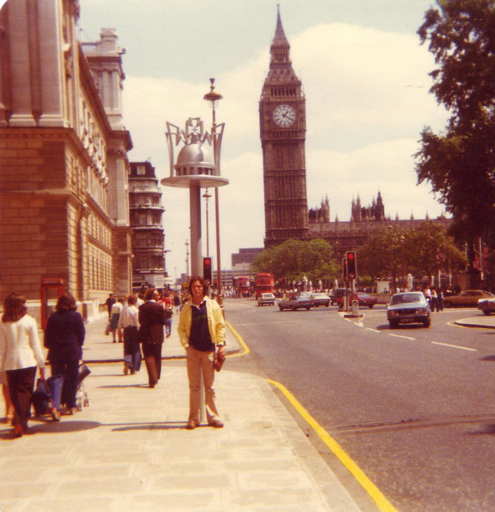 The last time I was in England, 1979
