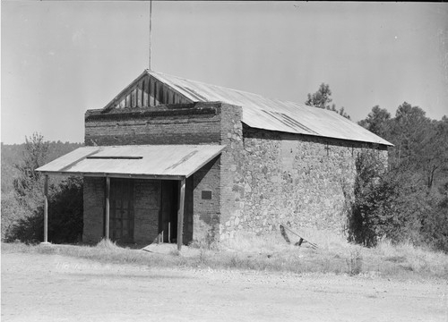 The preserved Stewart's Store in 1945.