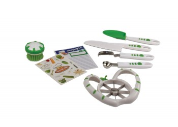 Curious Chef's 6 Piece Fruit & Veg Prep Set  $24.99