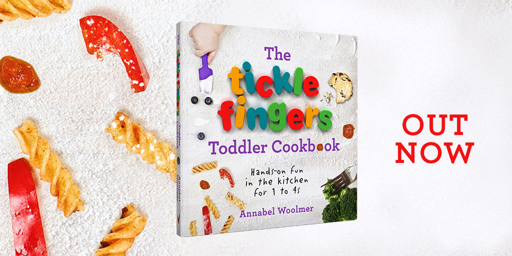 Tickle Fingers Toddler Cookbook - out now