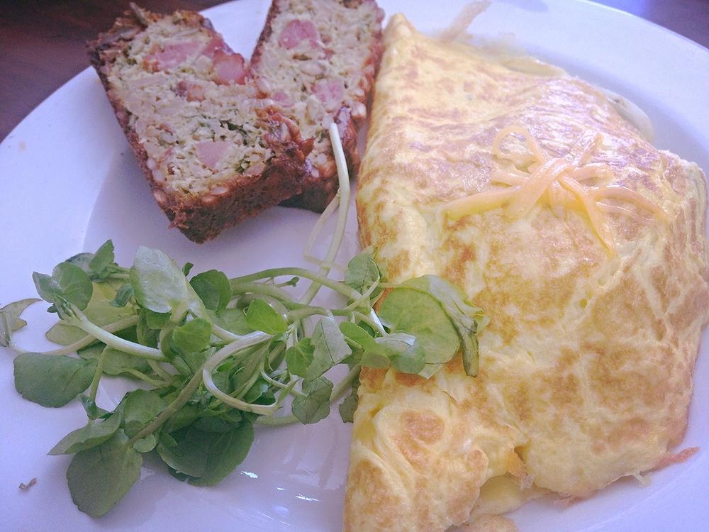 Rosinas winner Chorizo & Mushroom Omelette!