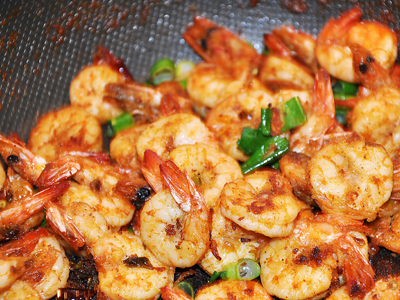 Butter & Garlic Prawns