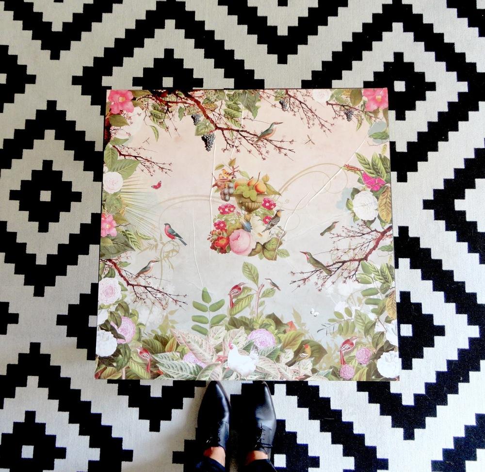 Sempre que misturo padrões é da Filipa que me lembro…ela fá-lo sempre muito bem (em casa como na roupa).