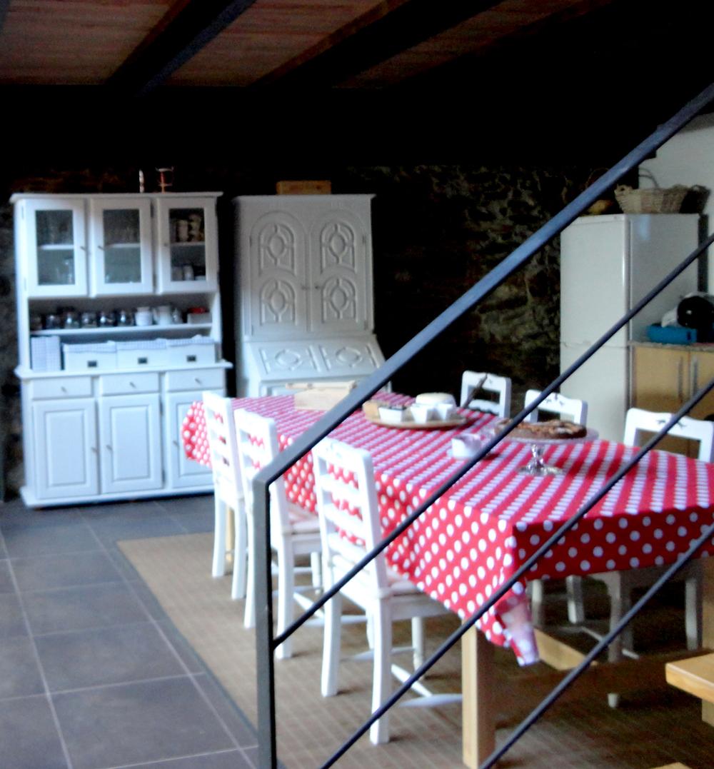 a cozinha é o centro da casa. a partir daqui tudo acontece.