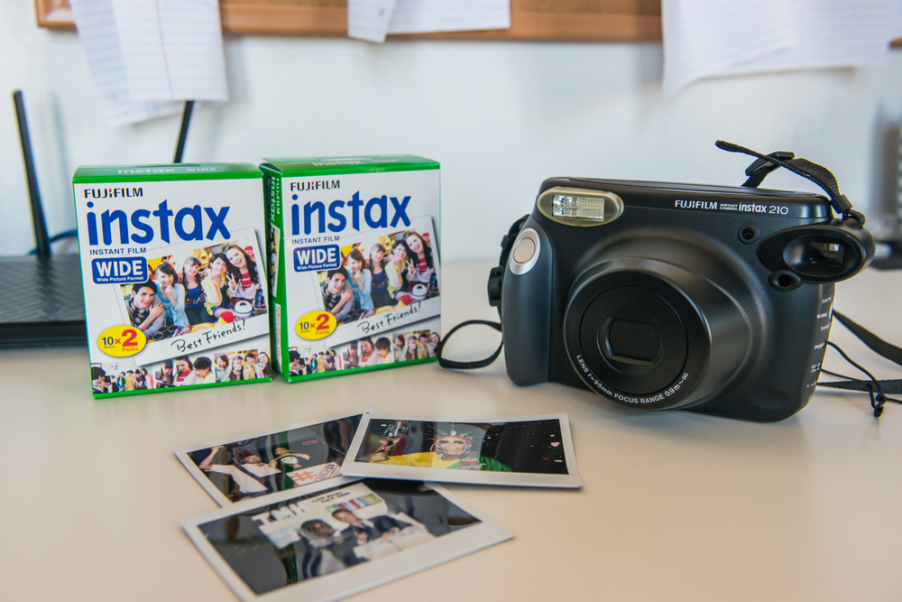 But Good News Fujifilm Has Its Own Polaroid Solution The Instax 210