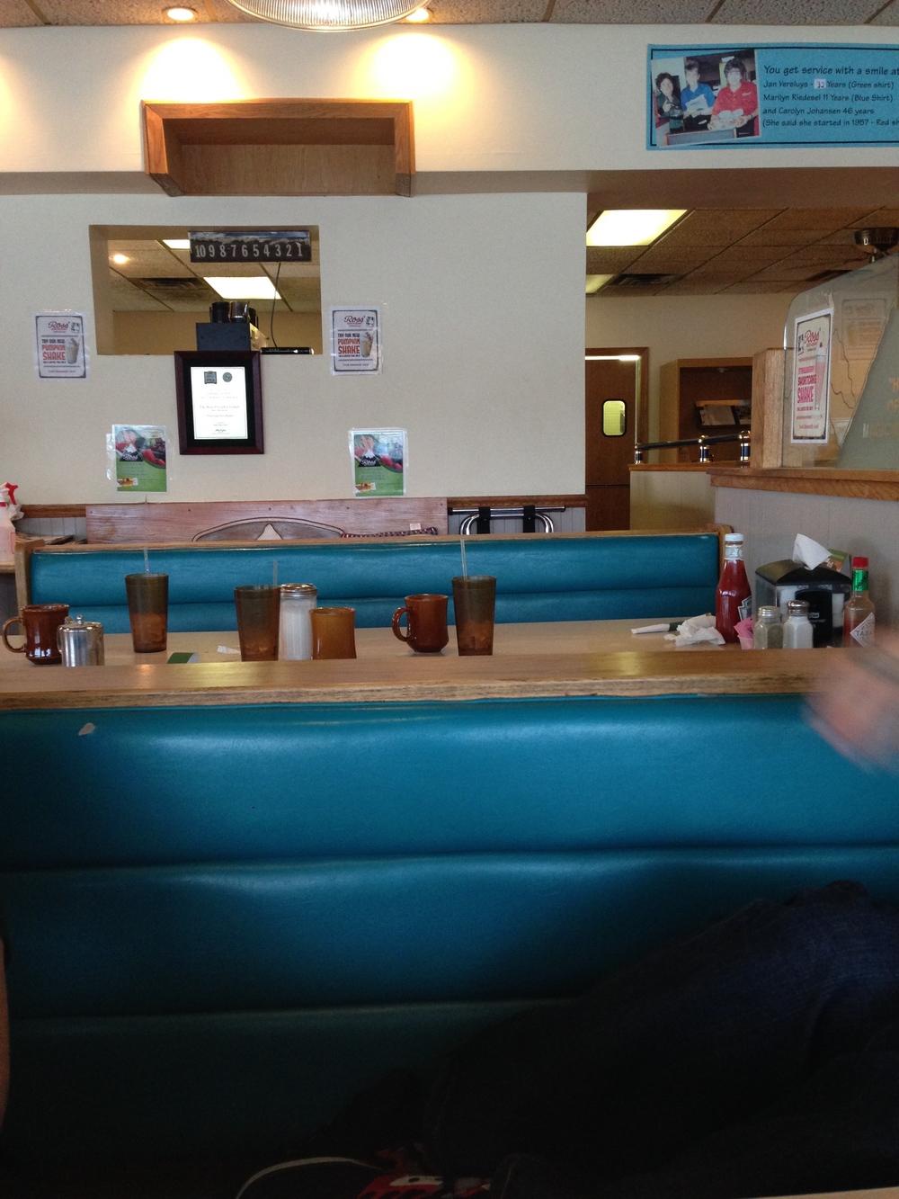 Diner in Moline, IL.