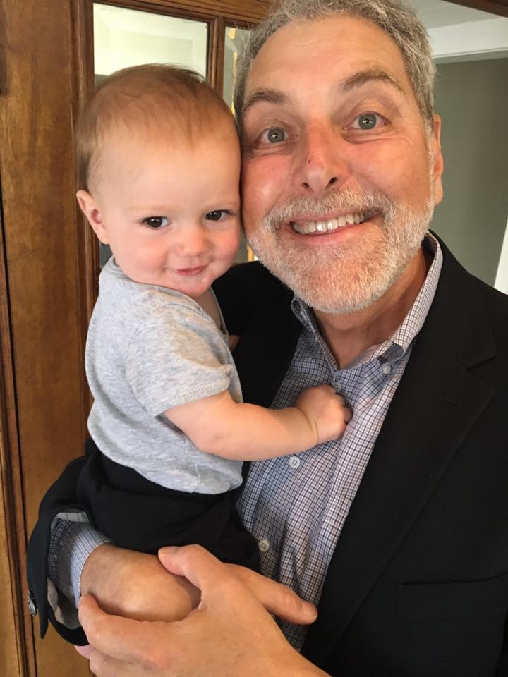 Our CEO with Rachel's Son, Levi