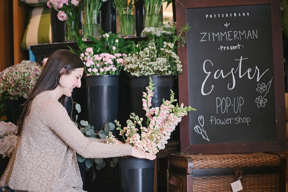 Easter Pop Up Flower Shop With Pottery Barn Arkansas