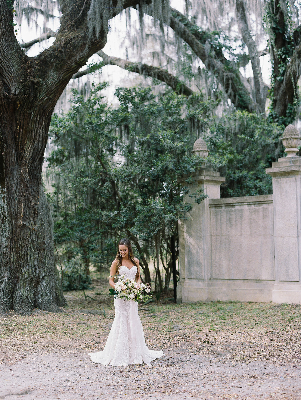 Jessica Zimmerman | Wormsloe Plantation Bridal Portraits
