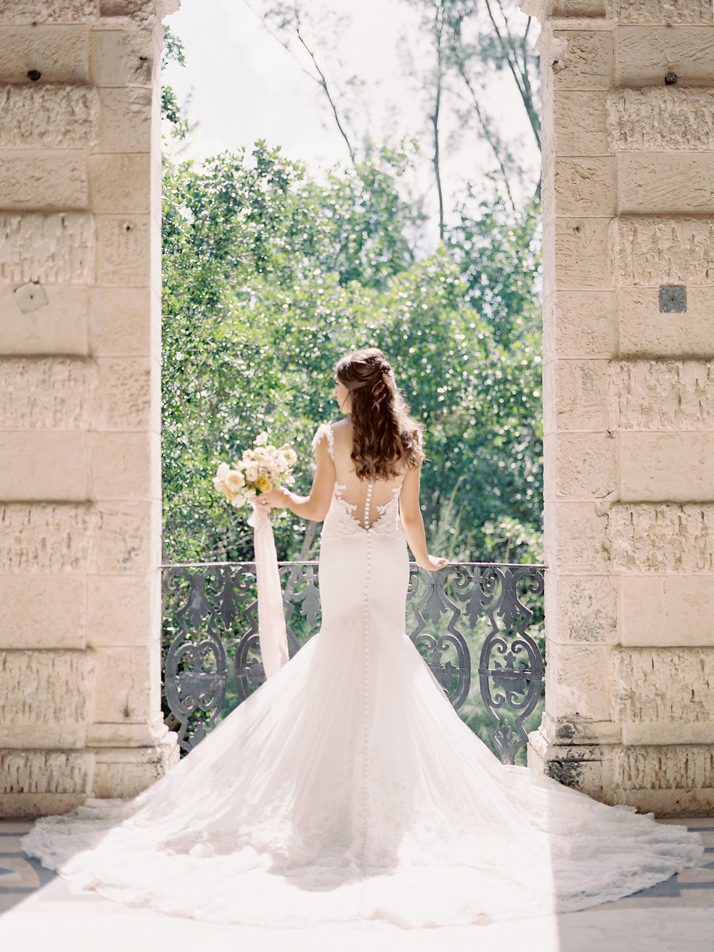 Jessica Zimmerman | Wedding Blog | Vizcaya Museum & Gardens