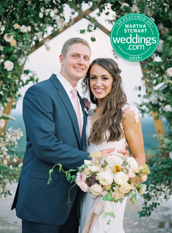 Jessica Zimmerman | Wedding Blog | Martha Steward Online Feature