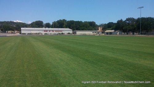 Ingram Football Field Renovation | STRIPES IN TURFGRASS
