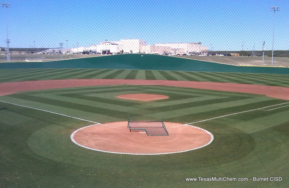 Burnet Baseball Field Mowing Pattern