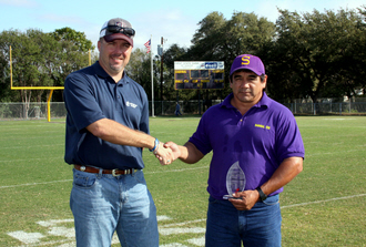 MVP Ruben Olivares With TMC Salesman Trey Davis