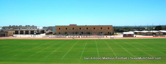 Football Field Renovation at SA Madison