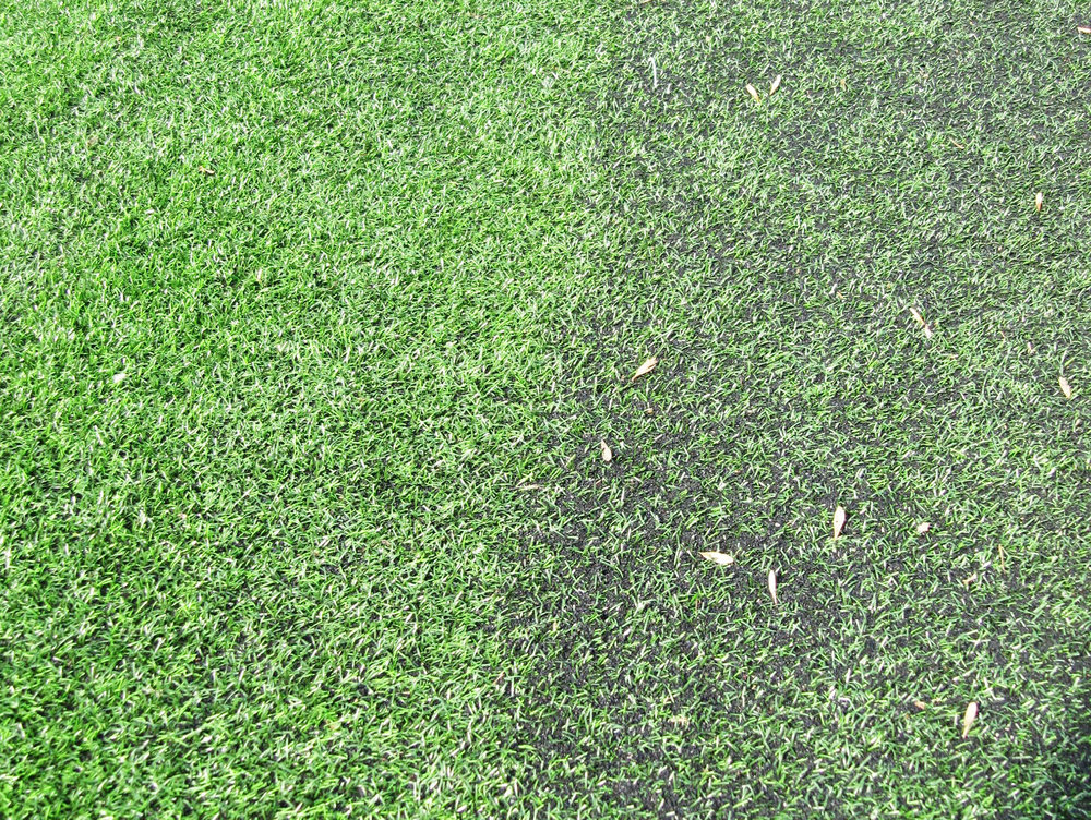 artificial turf decompaction | trash & debris on surface