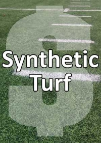 high cost of synthetic turf