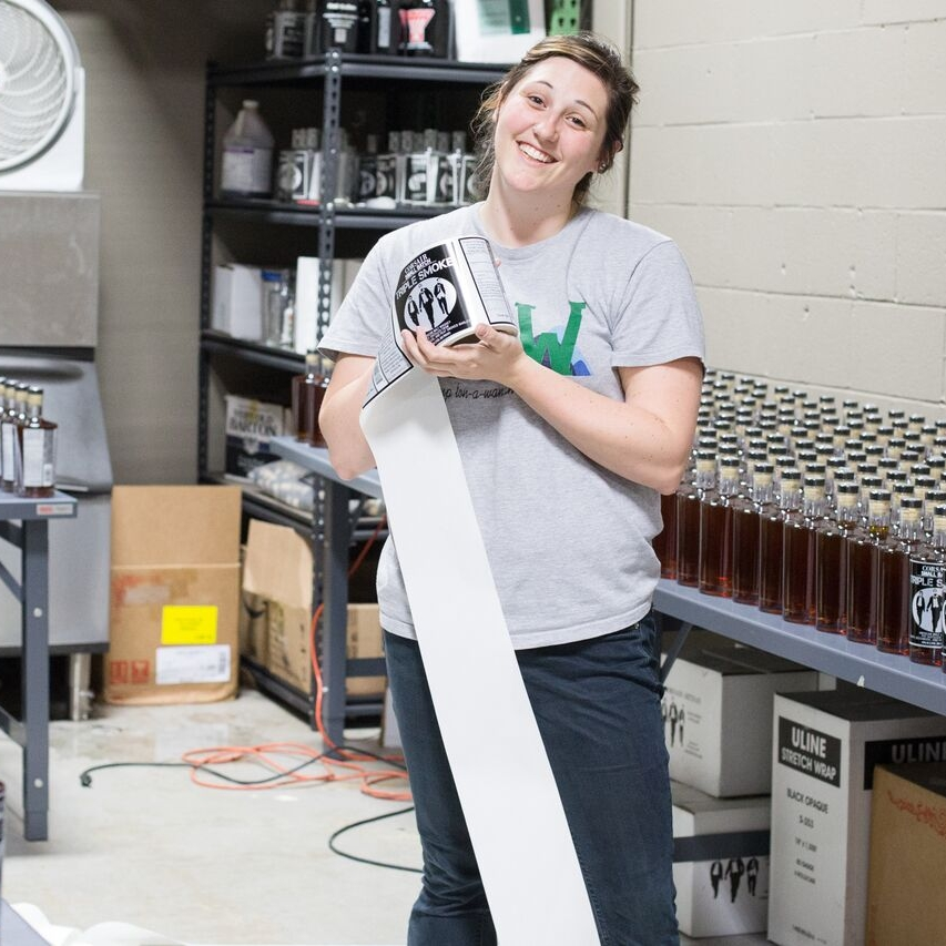 LORNA CONRAD Assistant Distiller/Brewer, Front of House Headquarters & Brewstillery