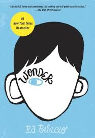 "WONDER by R.J. Palacio    ""Mr. Browne's precept for October was: Your deeds are your monuments.""    read 9/1/14"
