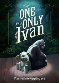 "THE ONE AND ONLY IVAN by Katherine Applegate    ""Humans waste words. They toss them like banana peels and leave them to rot.""    read 8/9/14"