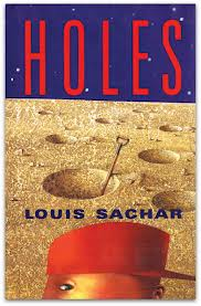 "HOLES  by Louis Sachar    ""'My mother was once a Girl Scout,' said Zero.     'I thought you said you didn't have a mother.'    'Everybody has to have a mother.'    'Well, yeah, I know that.'    'She said she once won a prize for selling the most Girl Scout cookies,' said Zero. 'She was real proud of that.'    Stanley peeled off another layer of his onion.""    read 4/17/14"