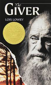 "THE GIVER by Lois Lowry    ""Tiny, cold, featherlike feelings peppered his body and face. He put out his tongue again, and caught one of the dots of cold upon it.""    read 2/23/14"