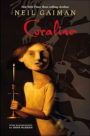 "CORALINE by Neil Gaiman    ""Coraline discovered the door a little while after they moved into the house.""    read 2/4/14"