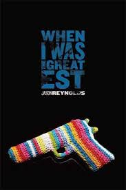 "WHEN I WAS THE GREATEST by Jason Reynolds    ""I remember watching him pop his head up from a different torn comic-book page, and his notepad, to watch the kids play in the hydrant.""    read 1/25/15"