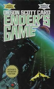 "ENDER'S GAME by Orson Scott Card    ""Maybe knowing about the craziness means you don't have to fall for it.""    read 2/26/15"