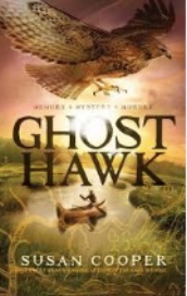 "GHOST HAWK by Susan Cooper    ""He had left his canoe in the river, tied to a branch of a low-growing cherry tree.""    read 12/28/15"
