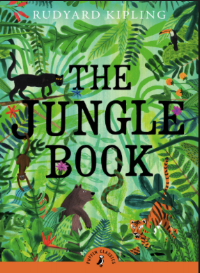 "THE JUNGLE BOOK by Rudyard Kipling    ""It was the noise that bewilders woodcutters and gypsies sleeping in the open, and makes them run sometimes into the very mouth of the tiger.""    read 7/9/16"