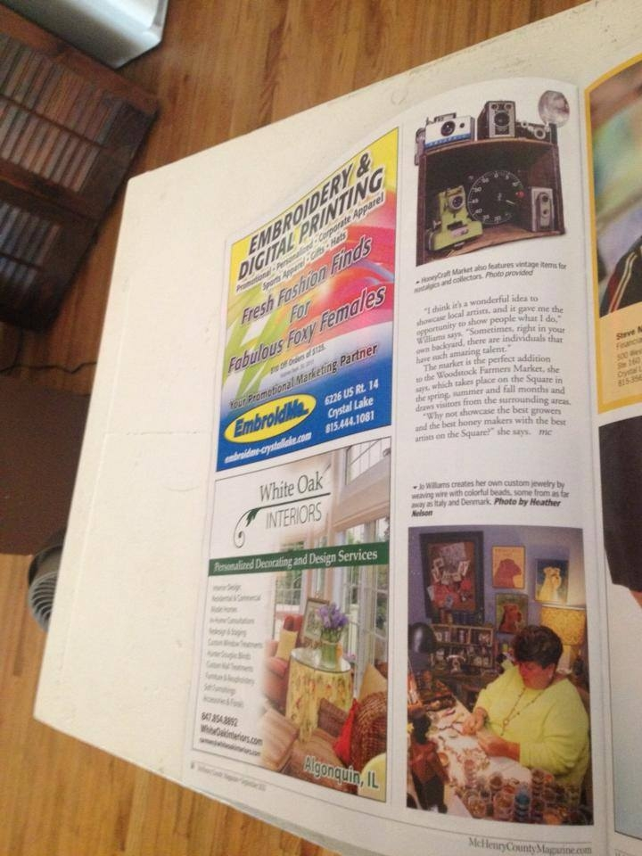 McHenry County Magazine HoneyCraft 3