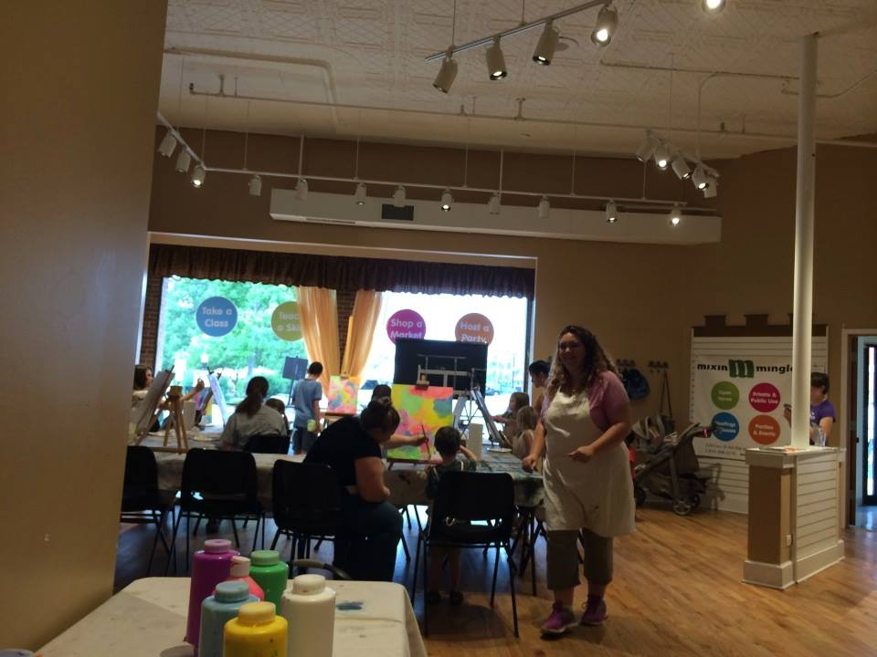 Children's Painting Class Hosted by Tamara's Artistry