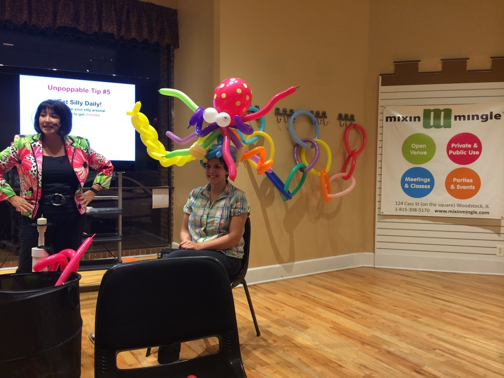 Holly Nagel Ballon Lady's Guide to Life Workshop
