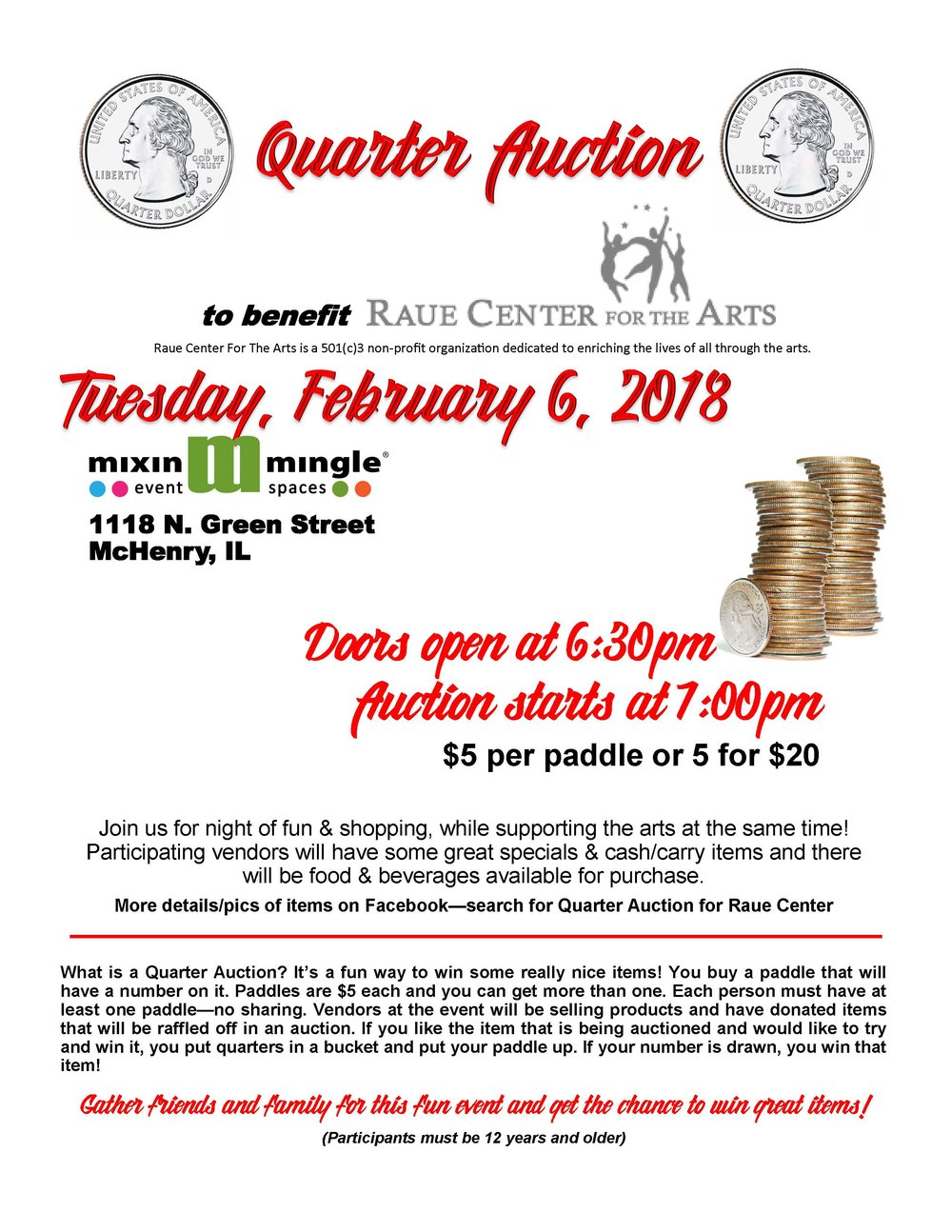 Raue Center Quarter Auction  flyer.jpg