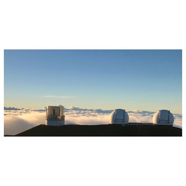 A volcano star party above the clouds every night!