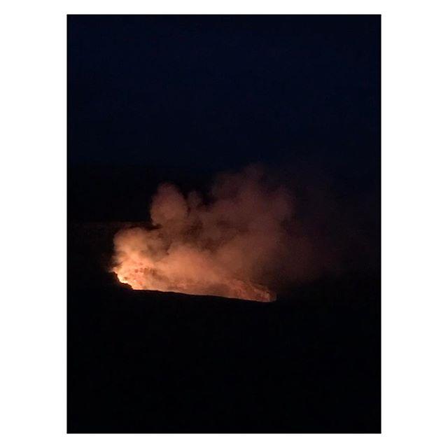 Volcano fluff